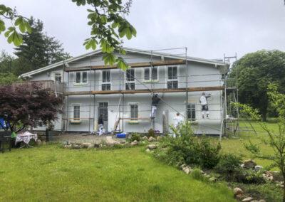 Hausfassaden, Fassadengestaltung