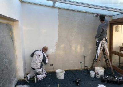 Innenraumgestaltung, Malerarbeiten Komplettsanierung