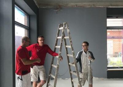 Malerarbeiten, Komplettsanierung, Fototapete, kreativ