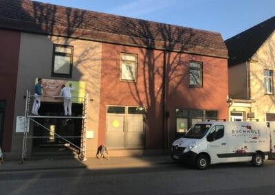 Malerabeiten, Fassade